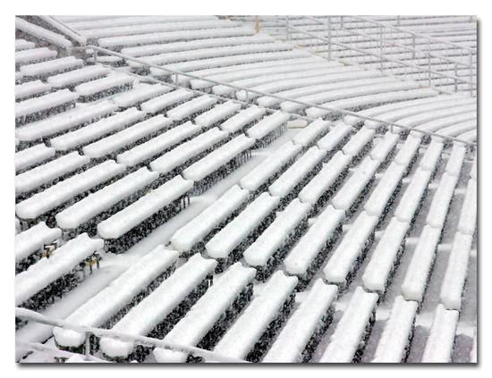 Imagen de Lienzo [60x40] - Grada nevada