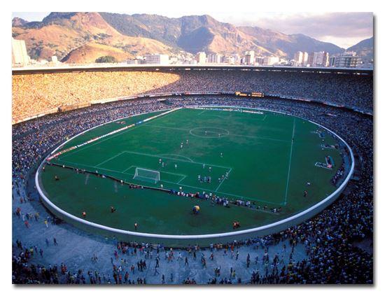 Imagen de Lienzo [60x40] - Maracaná (1989)
